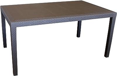 Lounge Tisch Sky wetterfest Couchtisch UV-beständig rostfrei Tisch Gartentisch
