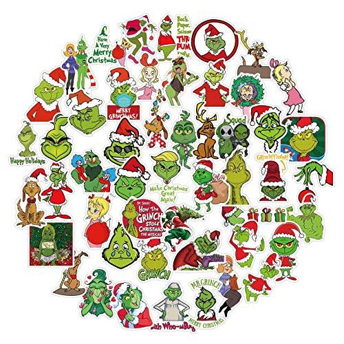 Awayhall Doodle Pegatinas 50PCS Pegatina Pegatinas de Vinilo Adhesivos Sticker Calcomanías Impermeables para Laptop, Coches, Motocicleta, Bicicleta, Equipaje, Monopatín