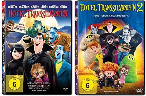 Hotel Transsilvanien 1+2 im Set - Deutsche Originalware [2 DVDs]