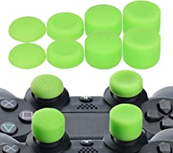 YoRHa Professional Thumb Grips Thumbstick Joystick Cap Cover (green) Extra High 8 Units Pack for PS4 Switch PRO PS3 Xbox 360 Wii U tablet PS2 controller