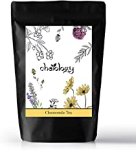 Chaiology Only Chamomile Tea, Loose Flower (Caffeine Free) - 142 Cups (0.7gm/Cup) - 100gms - for Calming, Stress Relief, Anxiety & Good Sleep