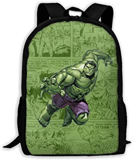 Custom Cute Hulk Casual Backpack School Bag Travel Daypack Gift