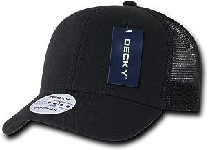 DECKY 6 Panel Curve Bill Trucker Cap