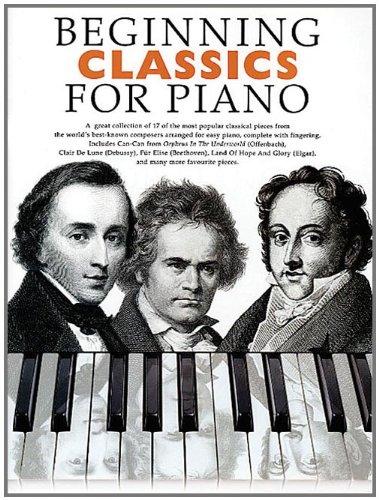 Beginning Classics -For Piano-: Sammelband für Klavier