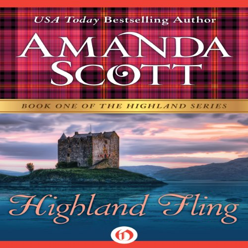 Highland Fling audiobook cover art