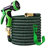 Best Garden Hoses - 100 ft Expandable Garden Hose,Upgraded Leakproof Lightweight Garden Review