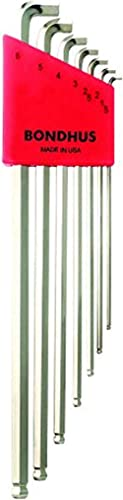 Bondhus 16792 Serie Chiavi Esagonali a Sfera Poliedrica, Argento, XL WS: : 1.5, 2, 2.5, 3, 4, 5 und 6 mm