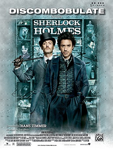Discombobulate (from the motion picture Sherlock Holmes): Five Finger Piano, Sheet