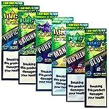 lomila 6er Pack - JUICY JAY Hanf Wrap - Natur TABAK frei - 2 pro Packung (12 Total) - beinhaltet -...