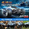 9200E RC Cars 1:10 Scale Large High Speed Remote Control Car for Adults Kids,48+ kmh 4WD 2.4GHz Off Road Monster Truck Toy,All Terrain Electric Vehicle Boy Gift with 2 Batteries for 40+ Min Play #1