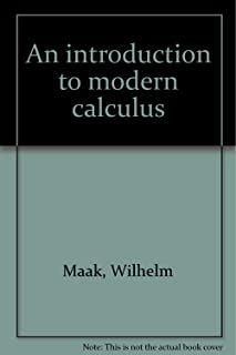 An Introduction to Modern Calculus