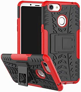 Soosos case for Oppo F5 case With Kickstand hybrid heavy duty 2 in 1 Anti-fall protection Cover Hyun pattern design TPU sh...