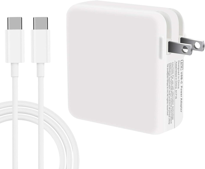 WUCHUKUI Many popular brands 61W USB C Charger Power Book Superlatite Pro Laptop Mac Ch Adapter