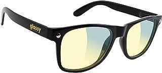 Glassy Sunhaters Leonard Gamers Black/Clear Yellow Sunglasses
