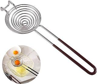 Foeran Egg separator - Egg Yolk white separator tool - food grade stainless steel egg separator,kitchen cooking gadge, sa...