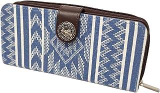 財布 ネイティブ コンチョ スマホケース付き ラウンドジップ 長財布