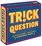 Chronicle Books Trick Question (Trick Question Game, Hygge Games, Adult Card Games for Parties, Adult Board...