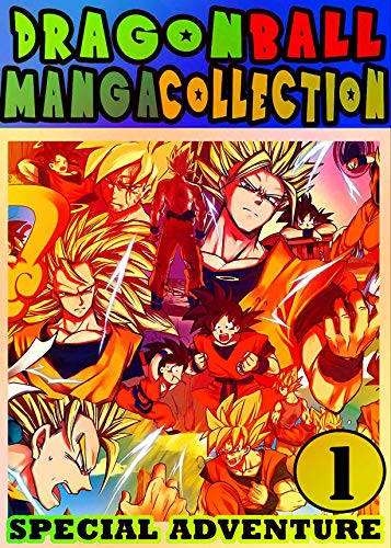 DragonBall Special: Collection Book 1 Great Action Graphic Novel Shonen Manga For Teenagers , Fan Dragon Goku Ball (English Edition)