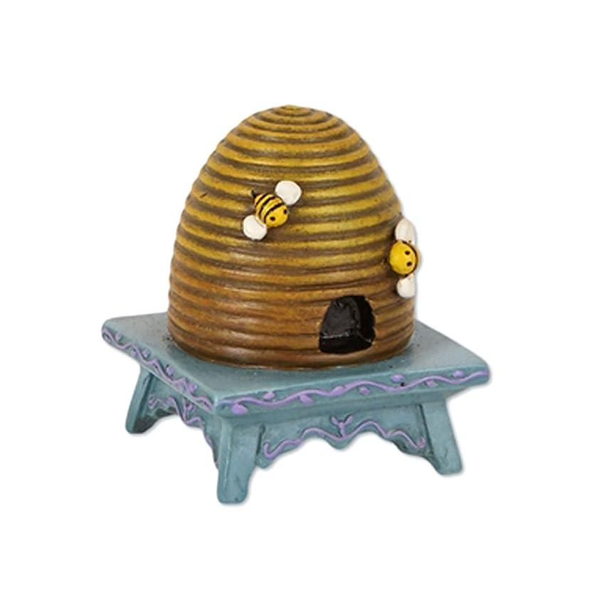 Beehive on Stool for Miniature Garden, Fairy Garden