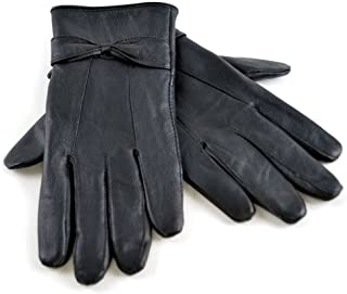 Womens Winter Warm Fleece Lined Cold Weather Thermal Sheepskin Leather Gloves