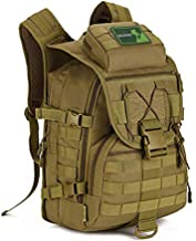 Huntvp 40L Military Tactical Backpack MOLLE Assault Daypack Rucksack WR