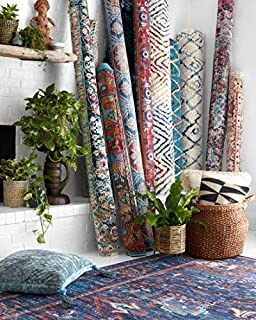 Loloi Rugs Cielo X Justina Blakeney Collection Area, 3' x 5', Berry/Tangerine (B07D5L26JK) | Amazon price tracker / tracking, Amazon price history charts, Amazon price watches, Amazon price drop alerts