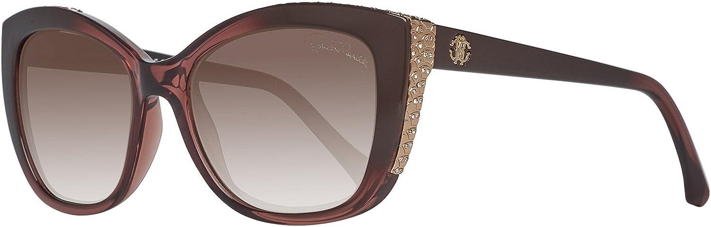 5 ☆ popular Roberto Cavalli Men's Designer Brown Outlet sale feature Sunglasses Violet Mirror