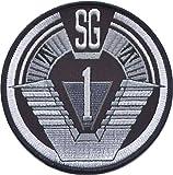 Stargate SG1Grupo 1Tamaño Completo Logo hombro 37/8'de ancho bordado Patch