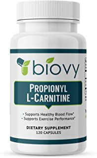 High Absorption Propionyl-L-Carnitine (PLCAR) by Biovy™ - No Artificial Fillers - Effective Propionyl L Car...