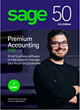 Sage 50 Premium Accounting 2019 – Advanced Accounting Software – Safe and Secure – Inventory Tracker – Manage Jobs & Expenses – Multi-User Capable