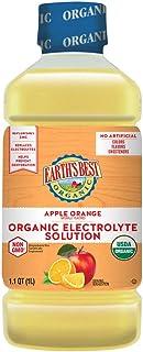 Earth's Best Organic Electrolyte Solution, Apple Orange, 1 Liter ( Pack Of 4 )