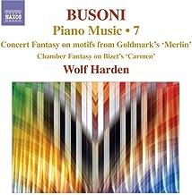 Busoni Piano Music Volume 7