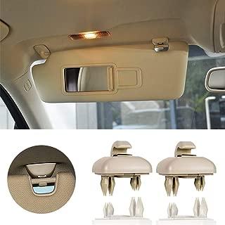 Genuine AUDI A4 A3 A5 TT Interior Sun Visor Hook Clip Beige Bracket