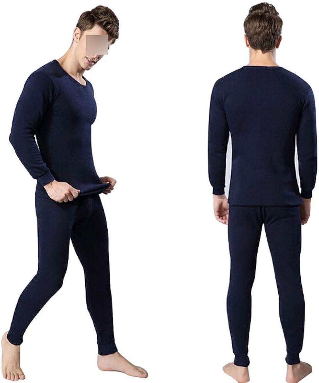 Men's Thermal Underwear Sets Winter Warm Men's Underwear Men's Thick Thermal Underwear,DL,L