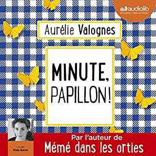 Couverture de Minute, papillon !