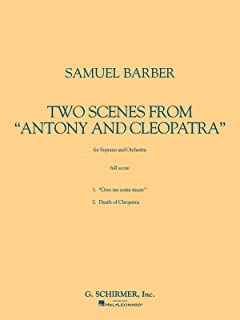 Two Scenes from Antony and Cleopatra: Study Score