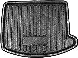 DVSWRB Coche Goma Alfombrillas Maletero para Ford Escape Kuga 2013 2014 2015 2016 2017 18-2019, Impermeable Antislip Antisuciedad Boot Liner Mat Protectora Alfombra Accesorios Alfombrilla
