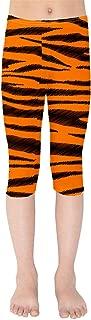 Rainbow Rules Tigger Stripes Winnie The Pooh Inspired Kids Capri Leggings