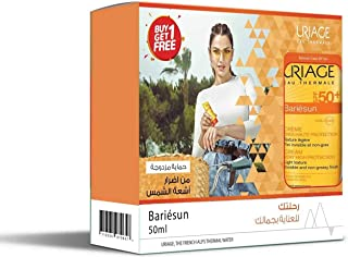 Offer 1+1 free Uriage Bariesun Spf50+ Creme 50 ml