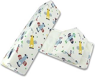 Almohada para Dormir Lateral para bebé, cojín Antideslizante Triangular Ajustable antivuelco para bebés, Adecuada para recién Nacidos y bebés de 0 a 6 Meses, cómoda y Suave (avión)