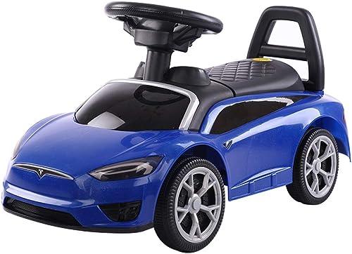 Kinder Roller Spielzeugauto Twist Car Swing Auto 1-3 Jahre Altes Baby Walker Spielzeugauto Yo Auto Xuan - worth having (Farbe   Blau)