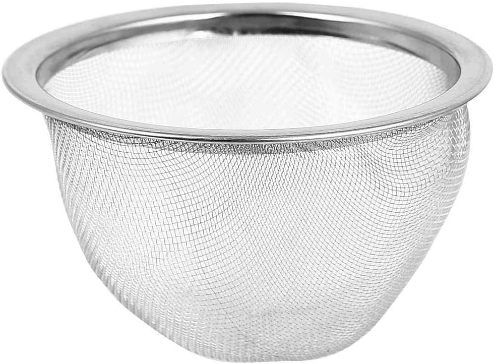 low-pricing uxcell Stainless Steel Mesh Tea New sales Leaves Stainer Filter Teapot I 3