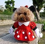 NACOCO Pet Clothes Pet Costume Minnie Costumes Dog Clothes Pet Apparel (Large)