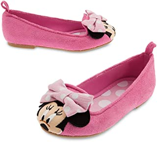 Disney Girls Minnie Mouse Flat Shoes Toddler 10 Pink