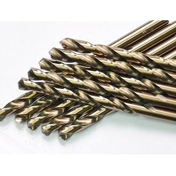 """MF00301266 Flat Bottom 9//64/"""" Cobalt Jobber Length Drill"""