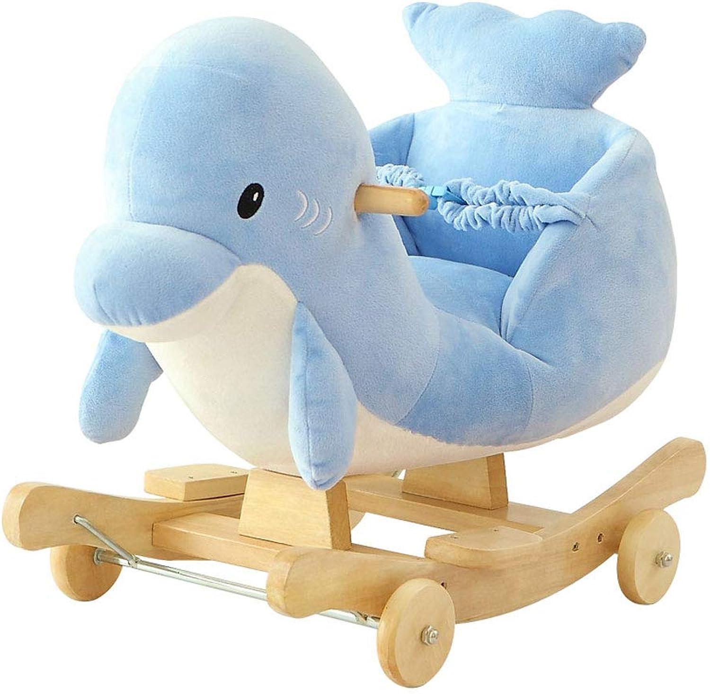 Schaukelpferd HUYP Mode Indoor Kinder Kinder Kindergarten Baby Spielzeug Trojaner Baby