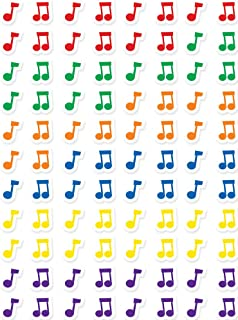 Creative Teaching Press Music Notes Hot Spots Stickers (7162), Multicolor
