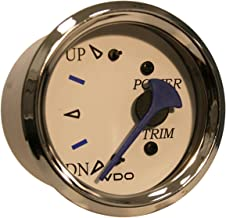 VDO Allentare Trim Gauge - for Use w/Mercury/Volvo/Yamaha 2001+ Engines - 12V