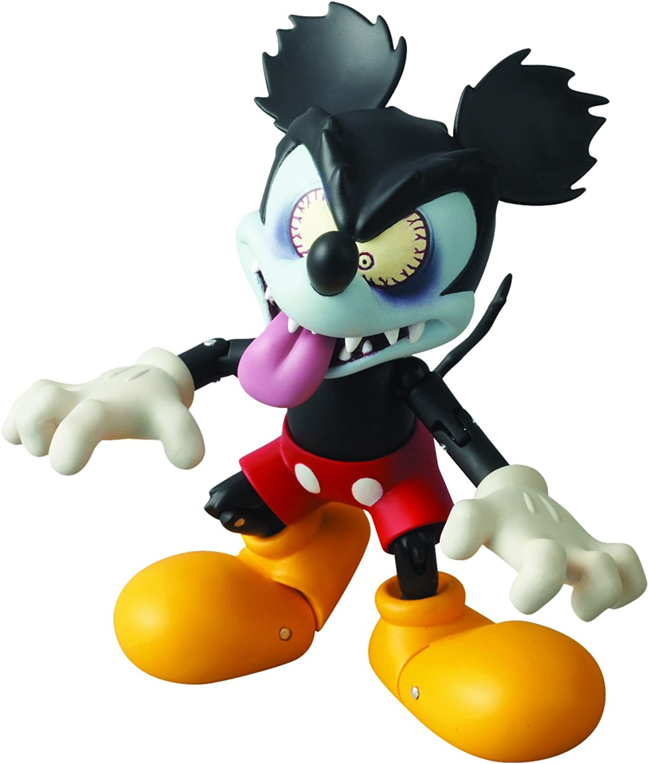 Medicom Mickey Mouse  Runaway Brain Miracle Action Figure