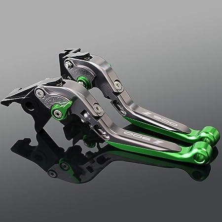 Z900 Bremshebel Und Kupplung Aus Aluminium Verstellbar Schwarz Für Kawasaki Z 900 2017 2018 2019 Kawasaki Z900 2017 2019 Titanio Verde Auto